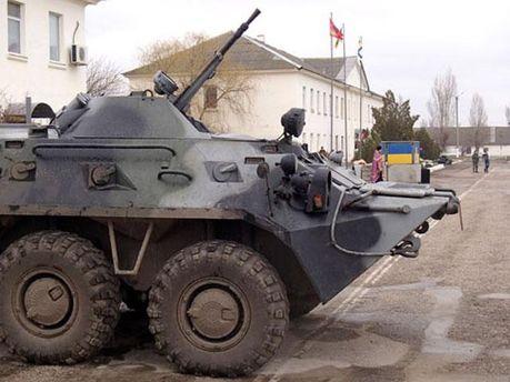 Техника украинских военных