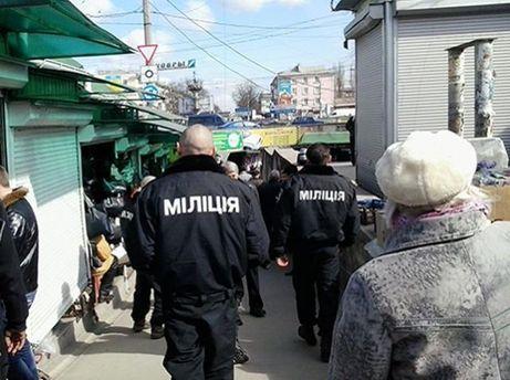 Неизвестные в формах милиции
