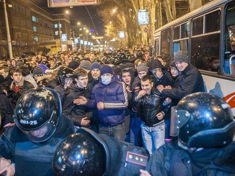 Сутичка у Донецьку