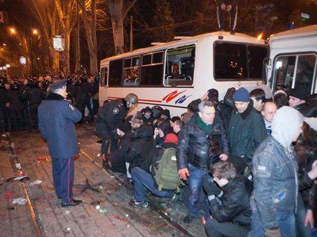 Сутичка у Донецьку 13 березня