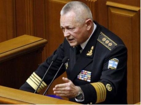 В.о. міністра оборони України Ігор Тенюх