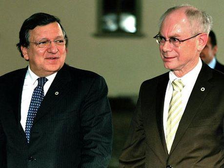 Жозе Мануель Баррозу і Герман Ван Ромпей