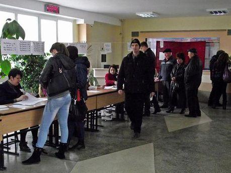 Голосування в Криму