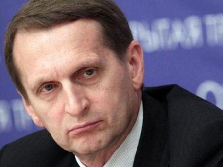 Спікер Держдуми Сергій Наришкін