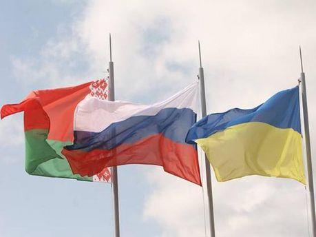 Украина-Россия-Беларусь