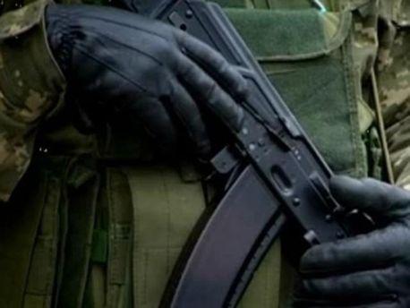 На часть напали вооруженные неизвестные