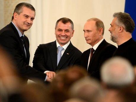 Підписання договору при приєднання Криму