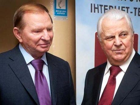Леонид Кучма и Леонид Кравчук