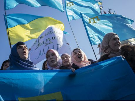Акція кримських татар