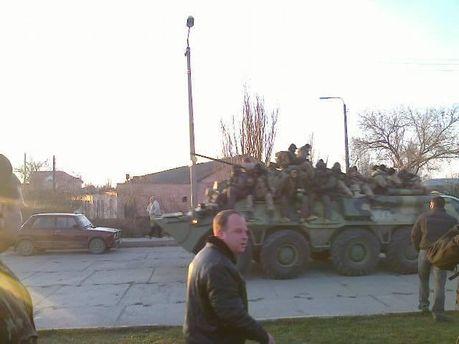 Захоплення батальйону окупантами