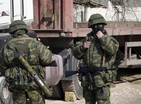 Военные в Крыму