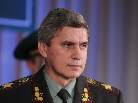 Председатель Госпогранслужбы Николай Литвин