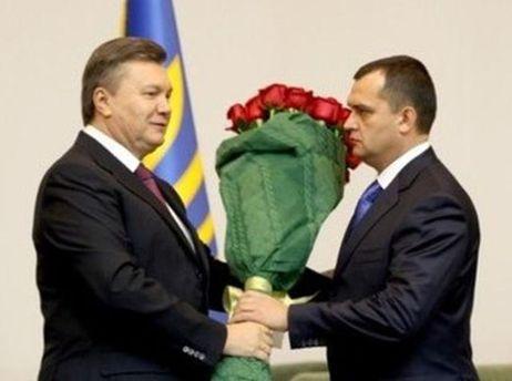 Виктор Янукович и Виталий Захарченко