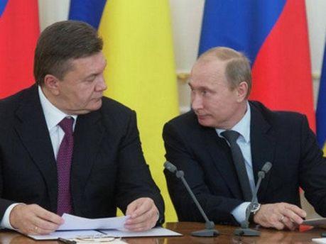 Володимир Путін та Віктор Янукович