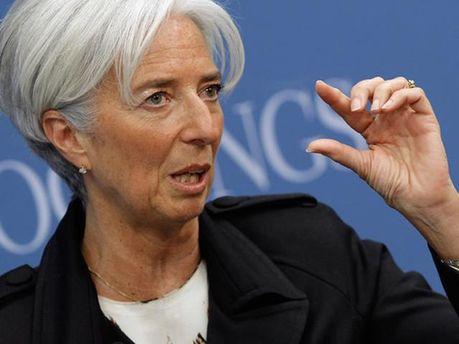 Глава МВФ Крістін Лагард