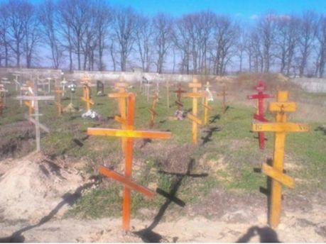 Возле Киева нашли десятки подозрительных безымянных могил (Фото)