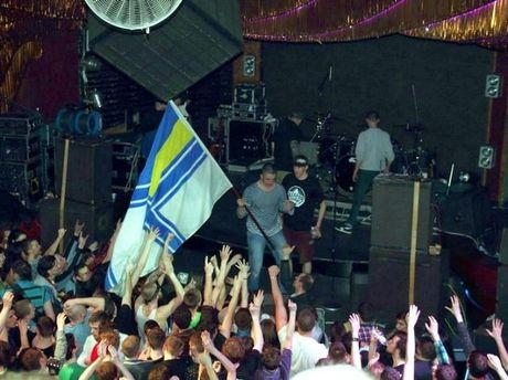 Українські моряки на концерті