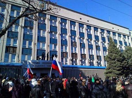 Штурм луганського управління СБУ