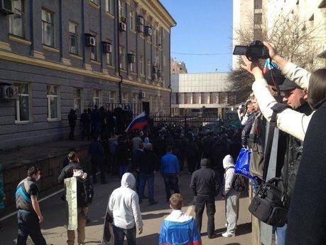 Штурм в Донецьку