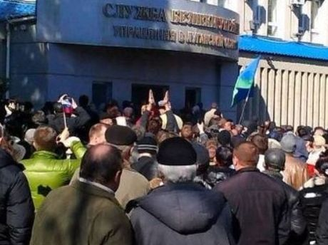 Штурм СБУ в Луганську