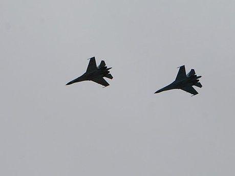 Самолеты над Харьковом