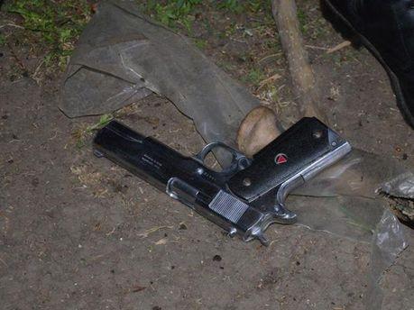 Зброя в наметовому містечку сепаратистів