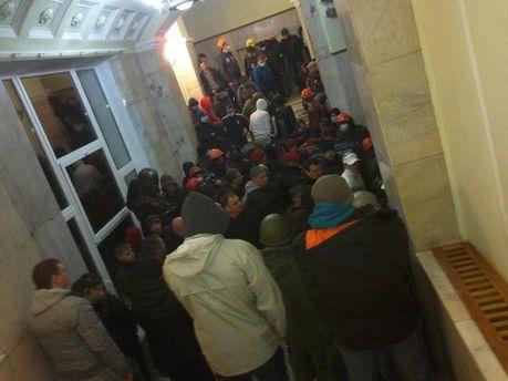 Штурм ОГА в Харькове