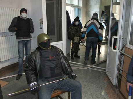 Сепаратисты захватывают ОГА