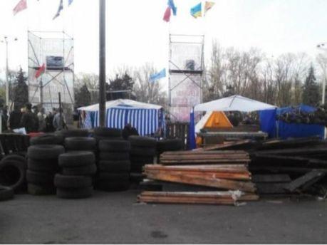 Барикады в Одессе