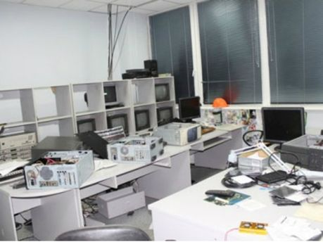Разбитый офис АТН
