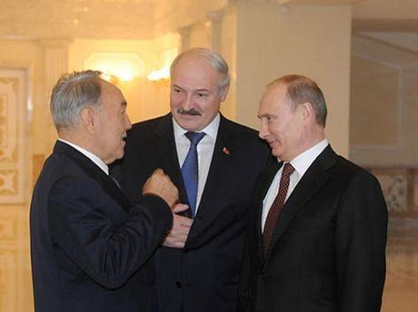 Назарбаев, Лукашенко и Путин