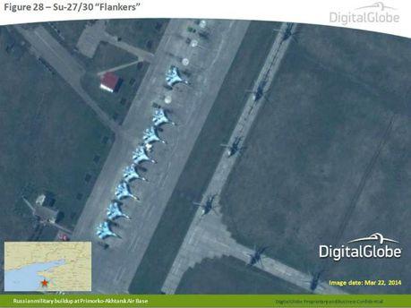 НАТО представило фото, де видно, як Росія посилює армію на кордоні з Україною