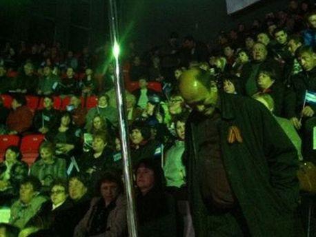 Сторонники Добкина в Донецке