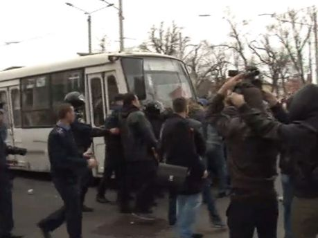 Схватка в Одессе