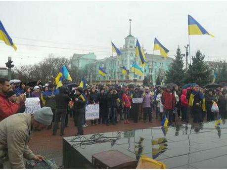 Мітинг у Луганську