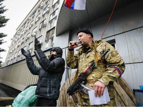 У Жданівці сепаратисти захопили міськраду