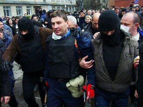 Андрей Крищенко и сепаратисты