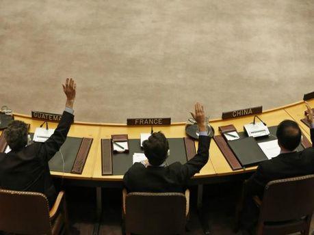 Заседание СБ ООН