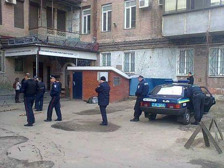 Міліція біля офісу