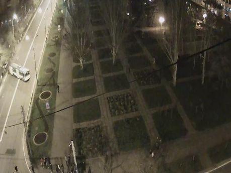 Мариуполь, троллейбусом перекрыли дорогу