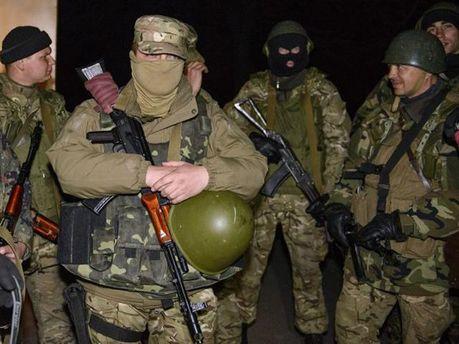 Диверсанты в Донецке
