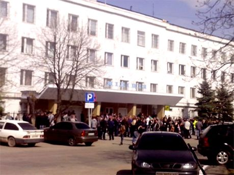 Здание УМВД в Стаханове