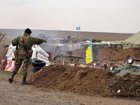 Українські десантники відкрили вогонь у відповідь