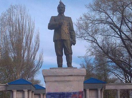 Пам'ятника Сарго Орджонікідзе