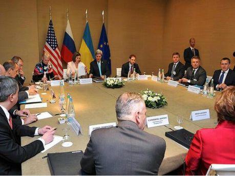Переговоры в Женеве