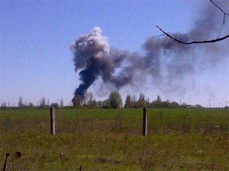 Взрыв на аэродроме