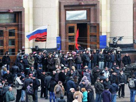 Події біля Харківської ОДА 8 квітня