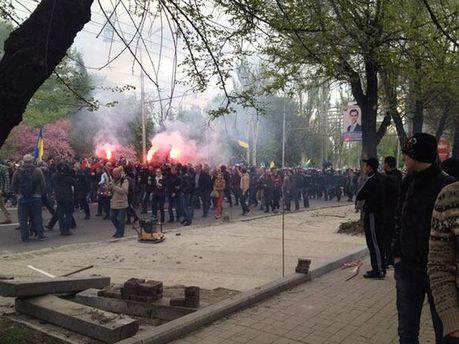 Донецк, столкновения