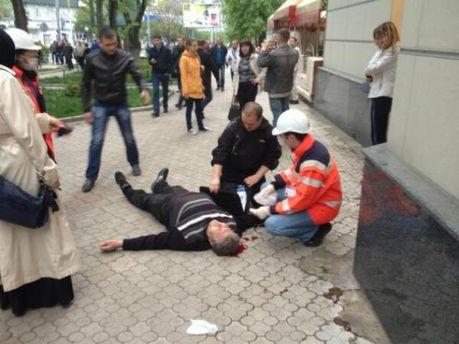 Травмированные после столкновения