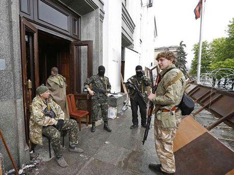 Сепаратисти в Горлівці